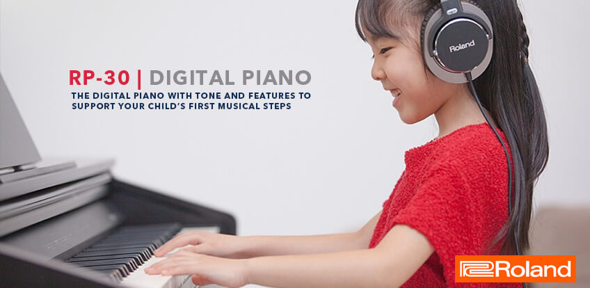 Digital Piano RP-30 Home Banner