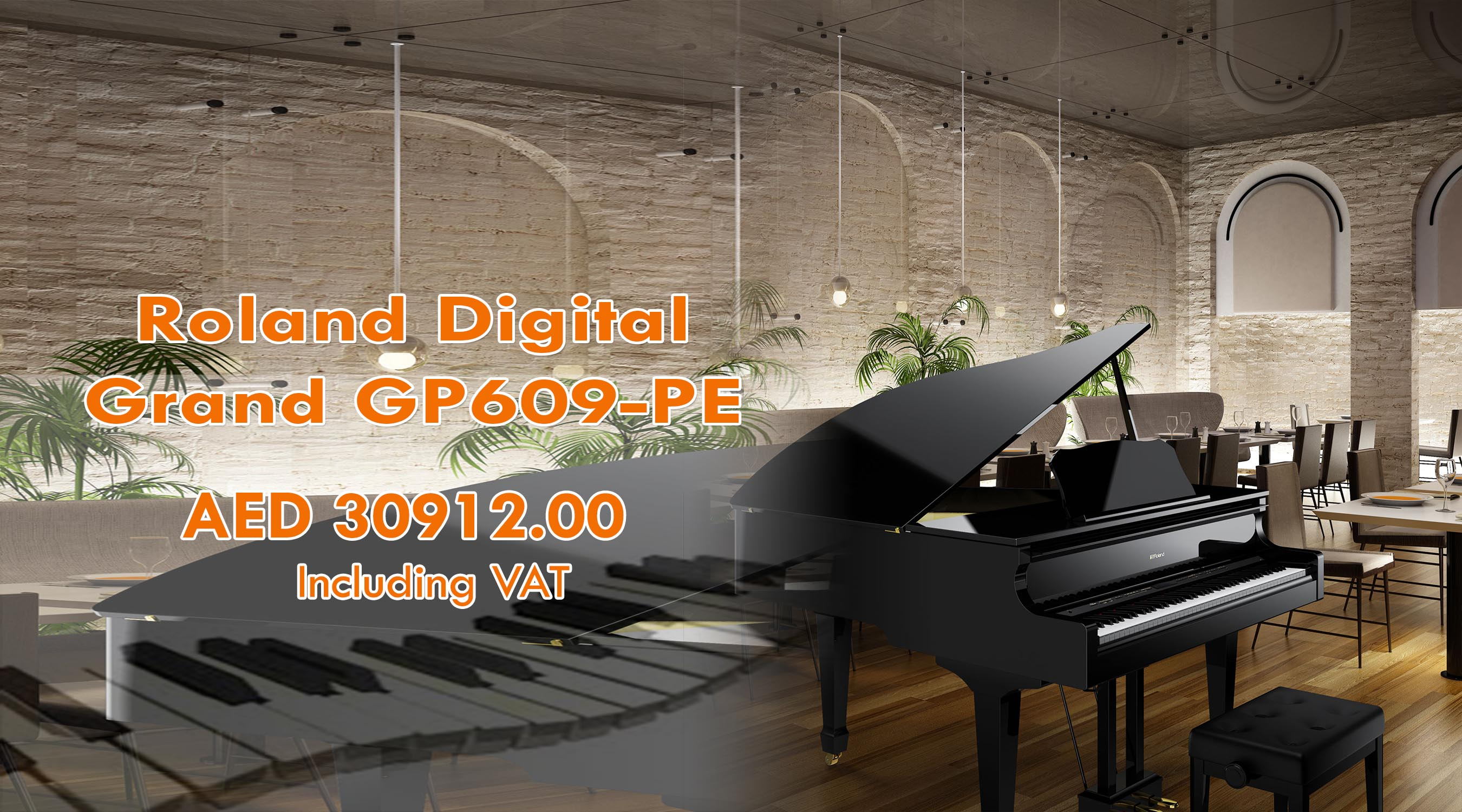 Roland GP609PE Home Banner