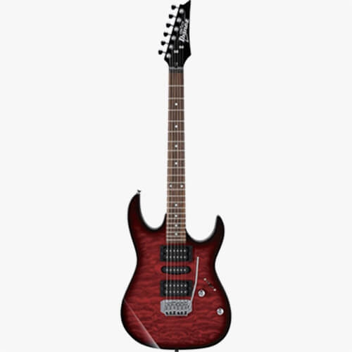 Ibanez Electric Guitar GRX70QA-TRB