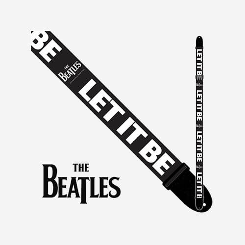 The Beatles Polyester Guitar Strap LPCP6084