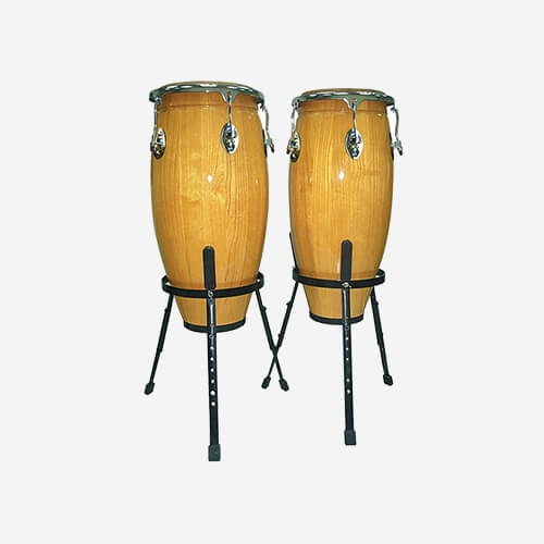Congas Set With Stands Natural PP10N