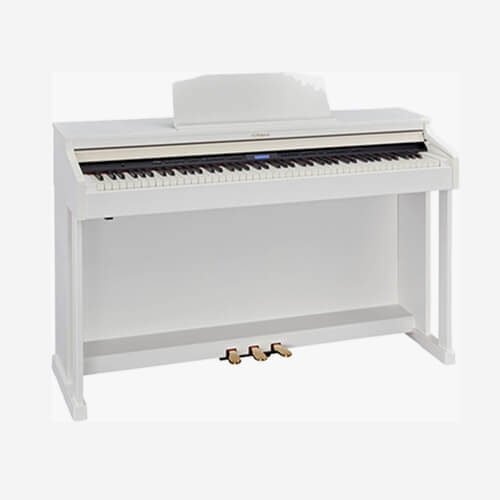 Roland Digital Piano HP601-WH (Stand Included)