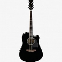 Ibanez Dreadnought Cutaway Acoustic-Electric PF15ECE-BK