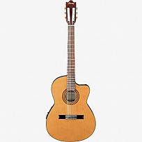 Ibanez Thin-Line Classical Guitar GA5TCE-AM
