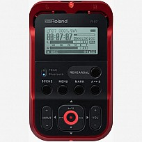 Roland High-Resolution Audio Recorder R-07 Red