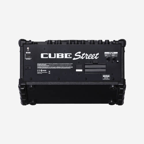 Battery Powered Stereo Amplifier CUBE-Street